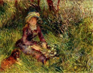Madame_Renoir_with_dog_by_Renoir